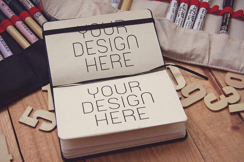 Sketch Notebook Mockup
