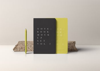 Free Notebook Mockup