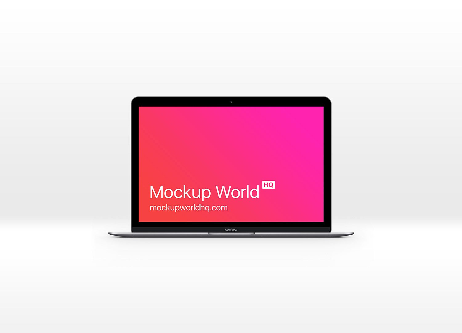 The New MacBook Pro Mockup Free