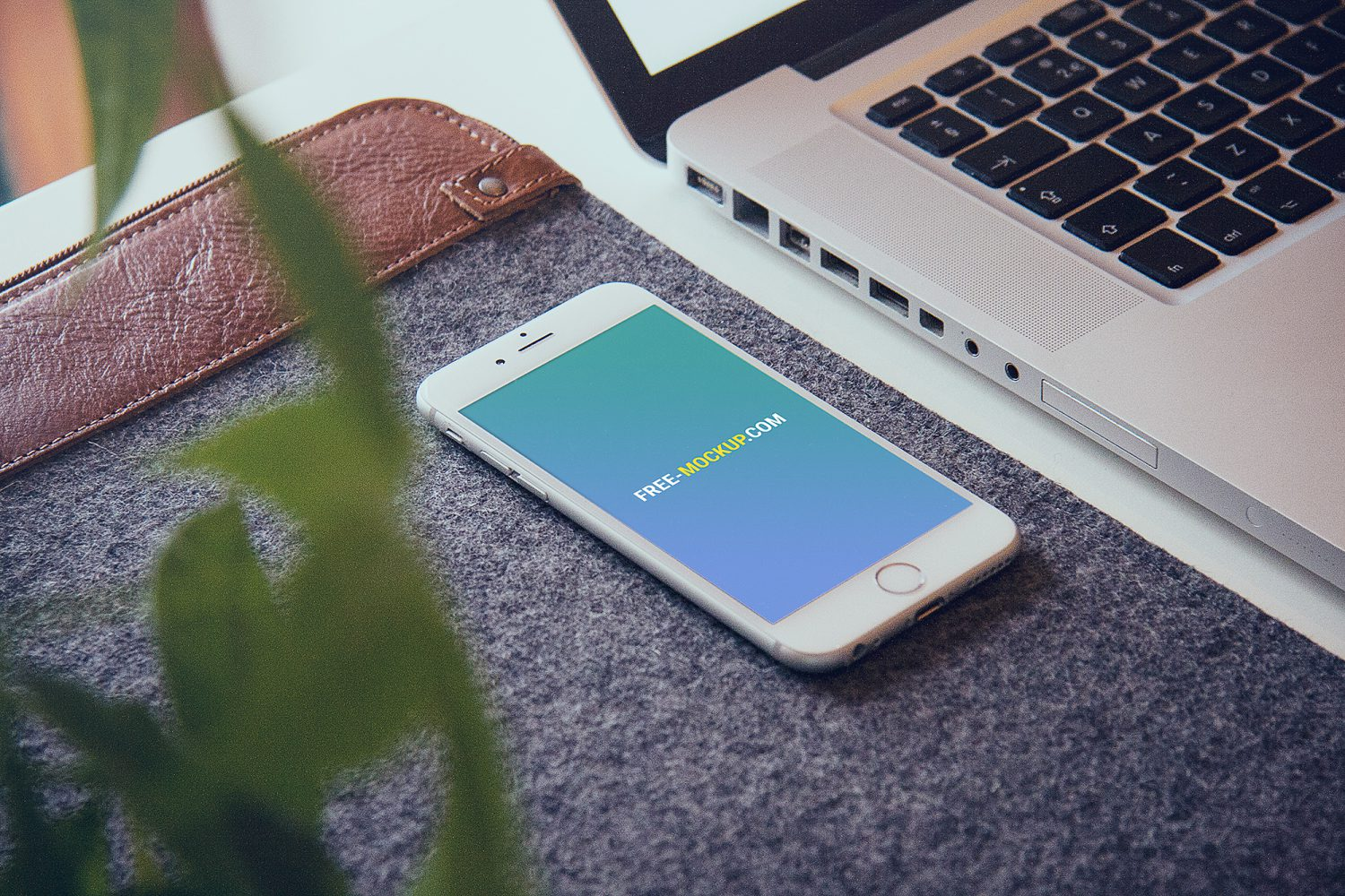 iPhone 6 Free Mockup. iPhone PSD Template