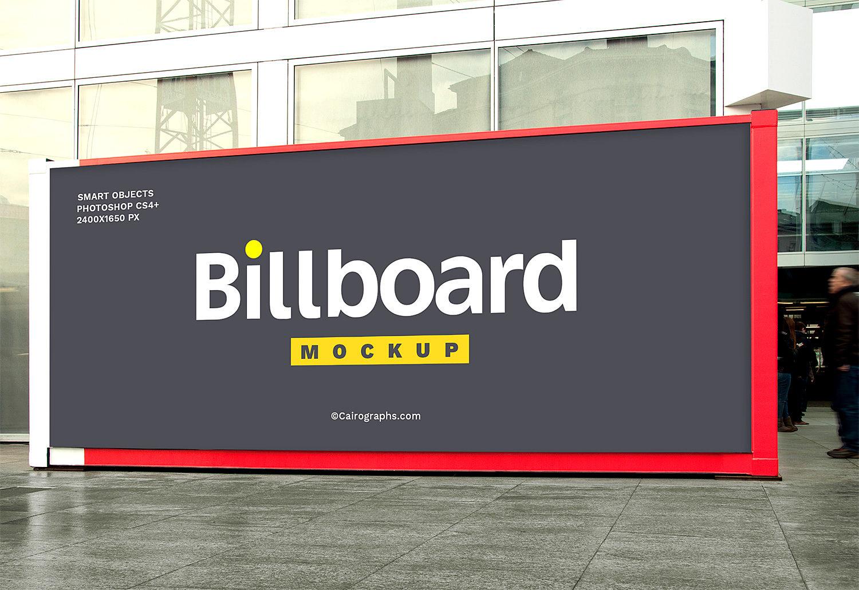 Billboard Free Mockup Set