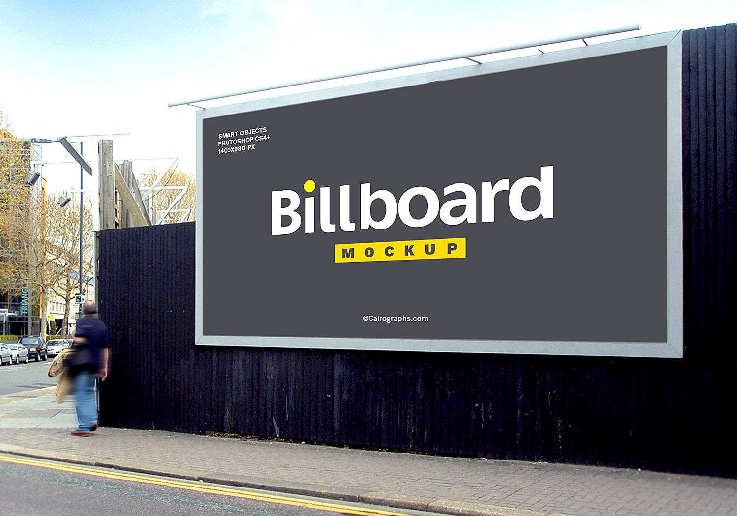 billboard free mockup set  8 psd files