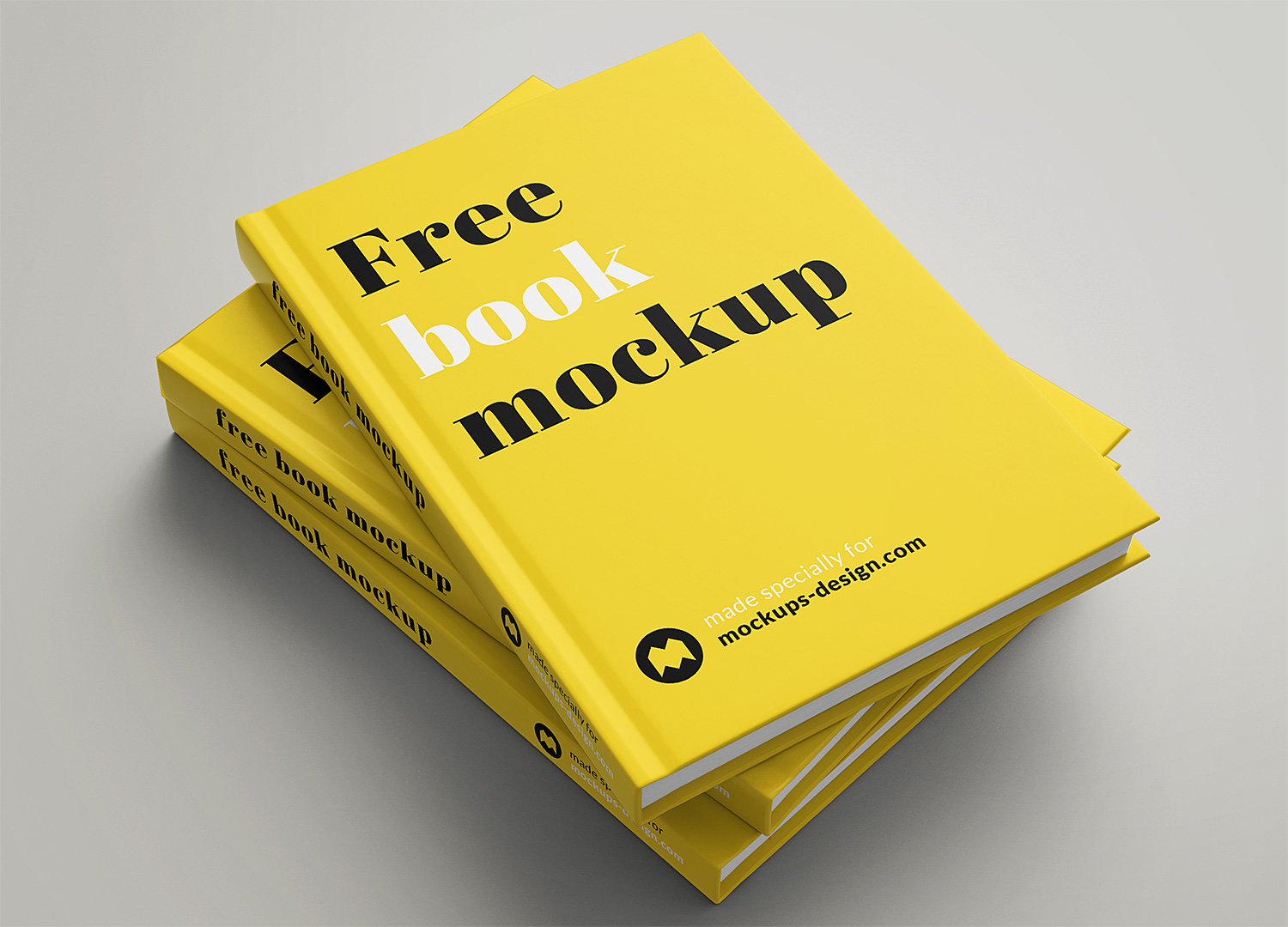 Book Mockup Free Set in PSD