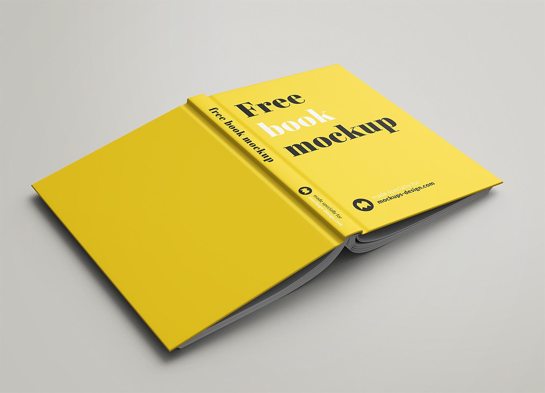 Book Mockup Free Set in PSD