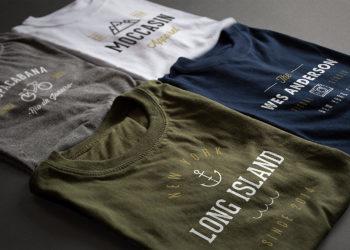 2 Photorealistic T-Shirt Mockups