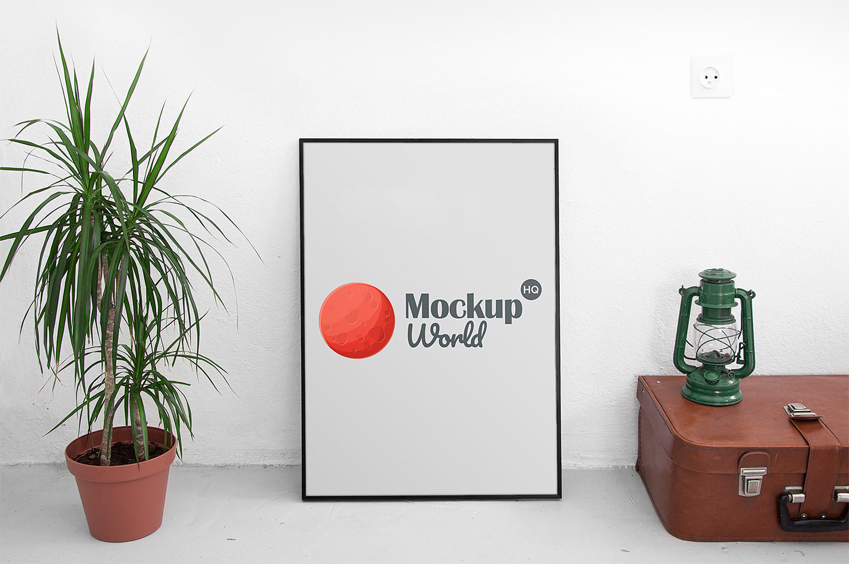 Poster Free Mockup PSD