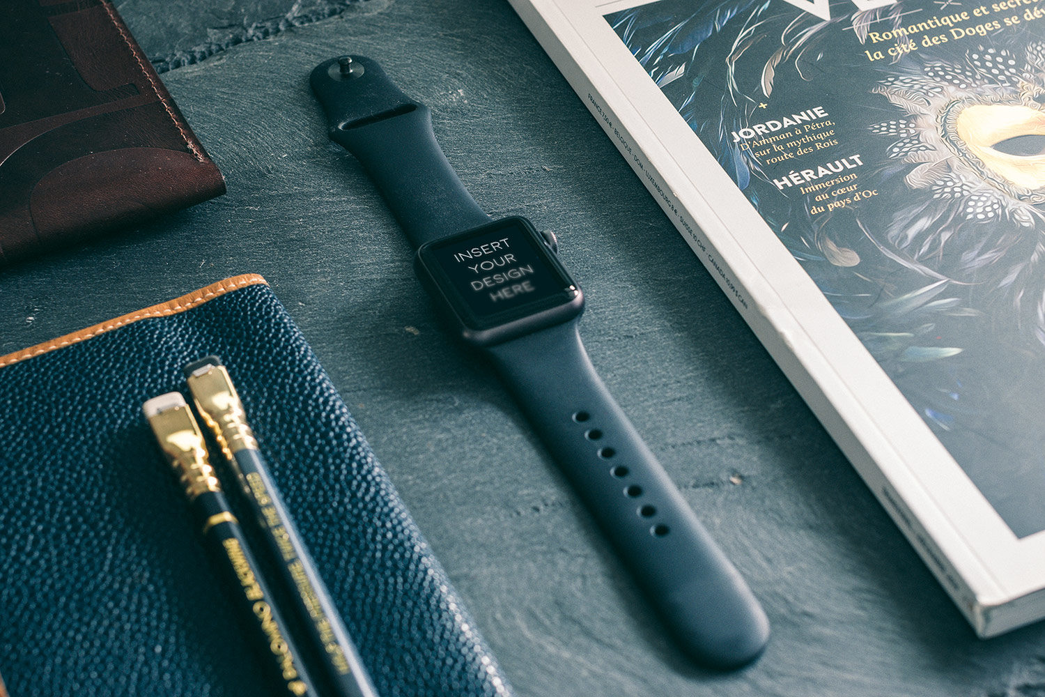 Apple Watch & iPhone 6 Mockups Free
