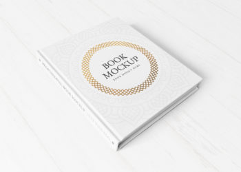 Hardcover Book Free Mockup