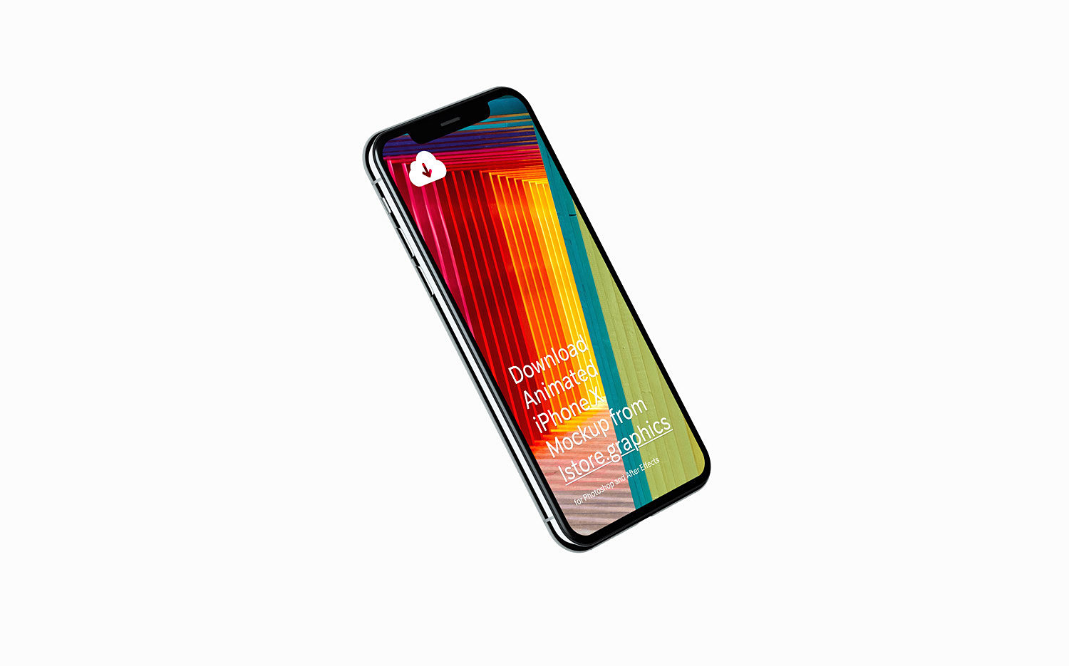 8 High-Resolution iPhone X Mockups
