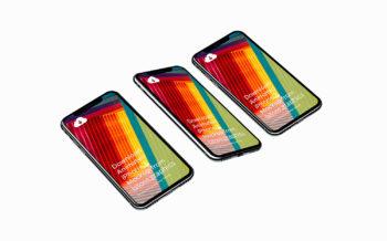 8 High-Resolution iPhone X Mockups