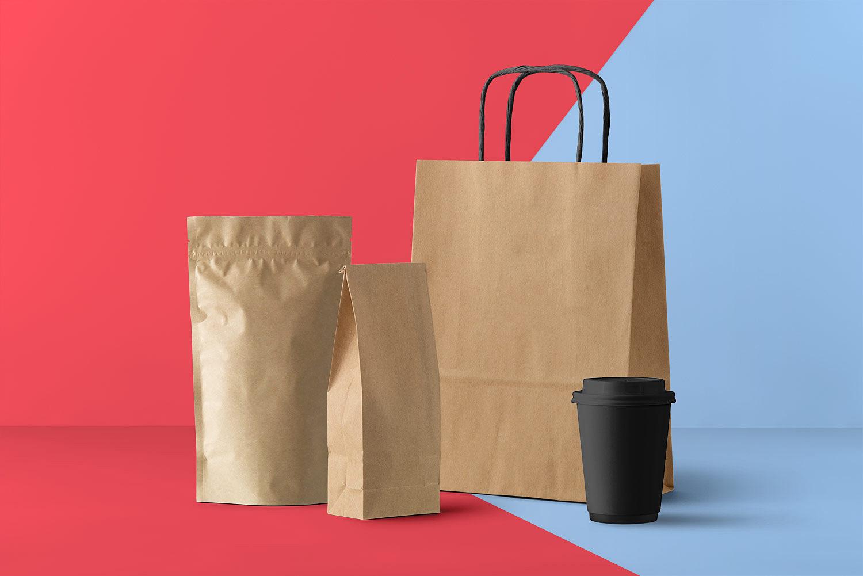 Packaging and Branding Mockup Free