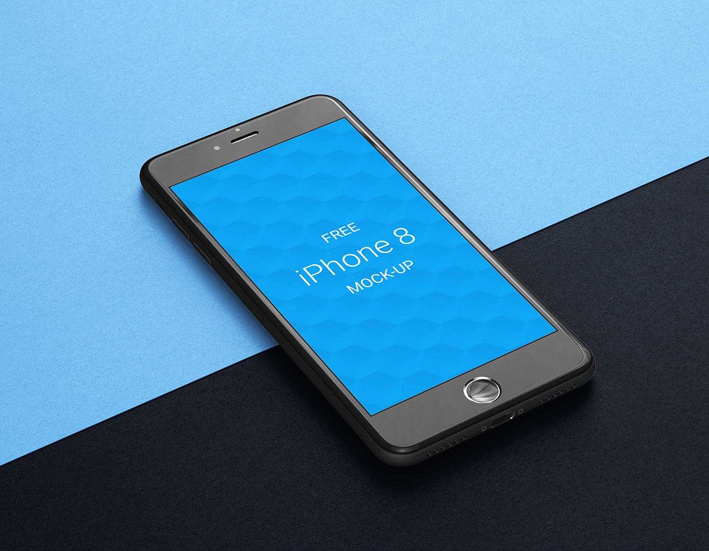 Apple iPhone 8 Free Mockup