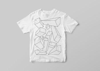 T-Shirt Free PSD Mockup Template