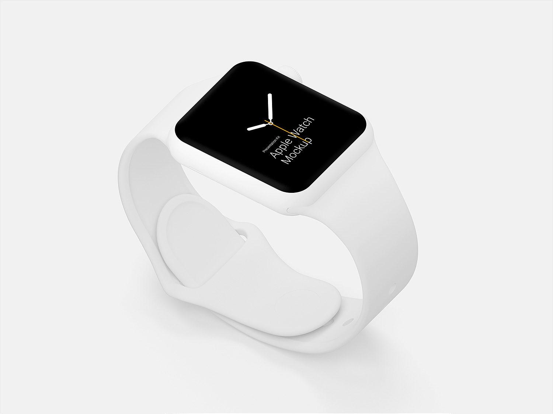 Apple Watch Sketch & PSD Mockups Free