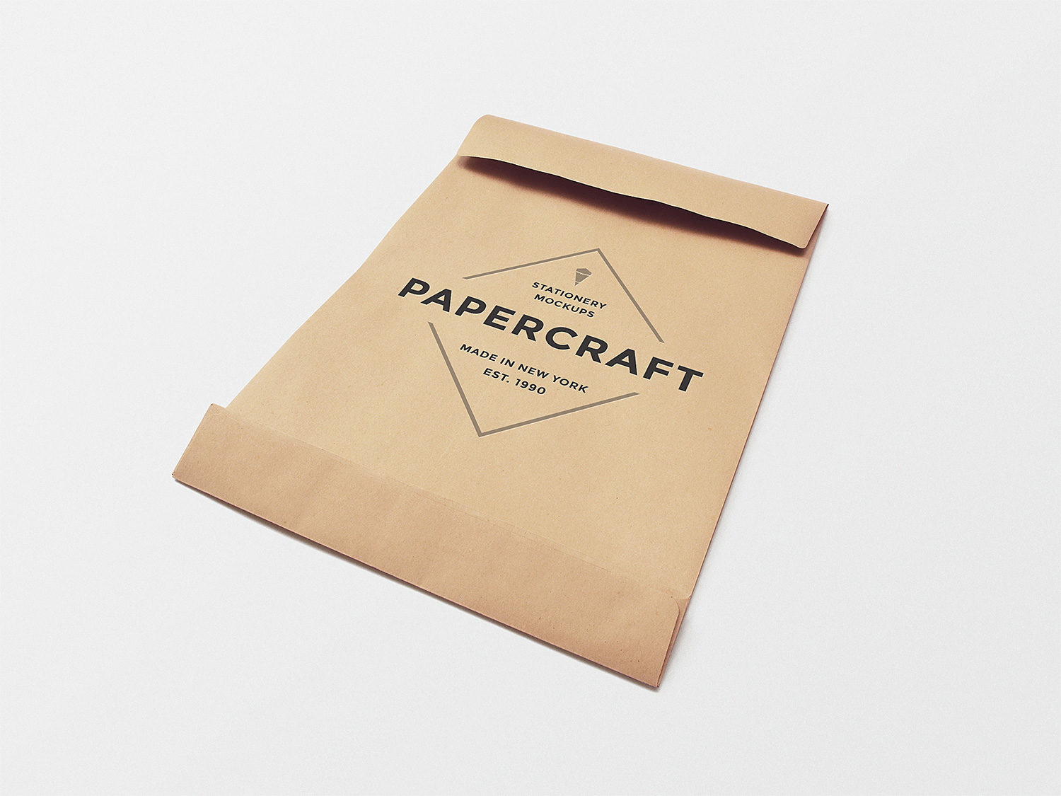 Big Envelope Free Mockup