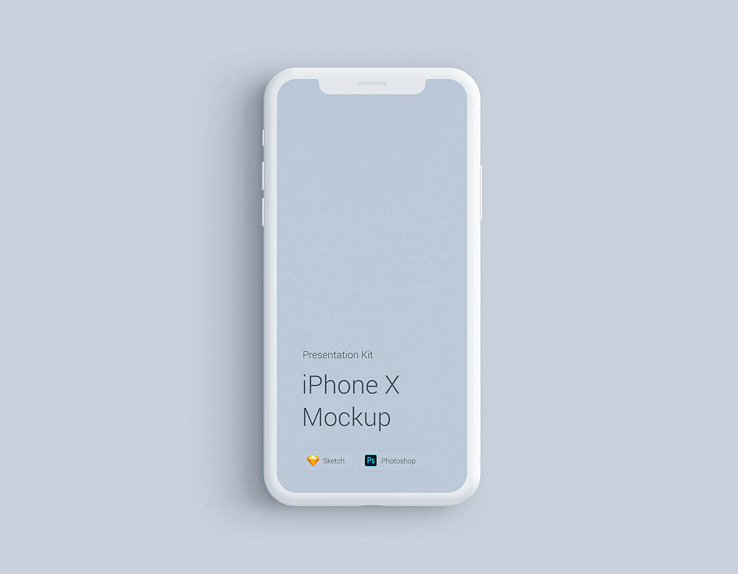 Free iPhone X Mockup Sketch and PSD