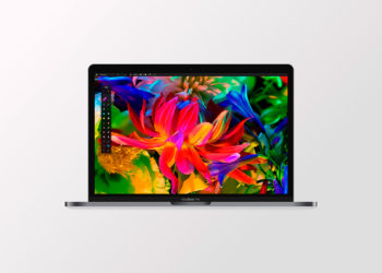 MacBook Pro Free Sketch Mockup