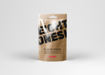 Plastic Pouch Mock-Up Free