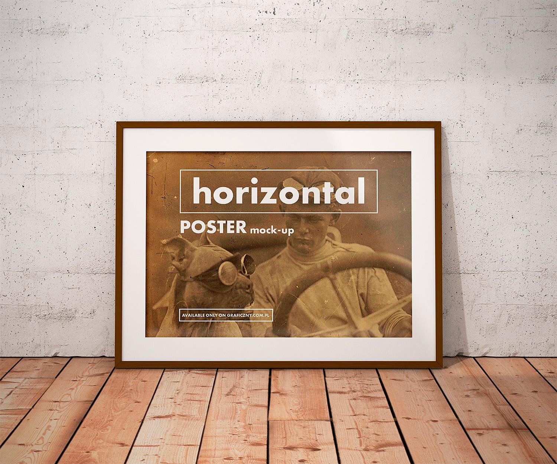 Posters Frame Mockup Free