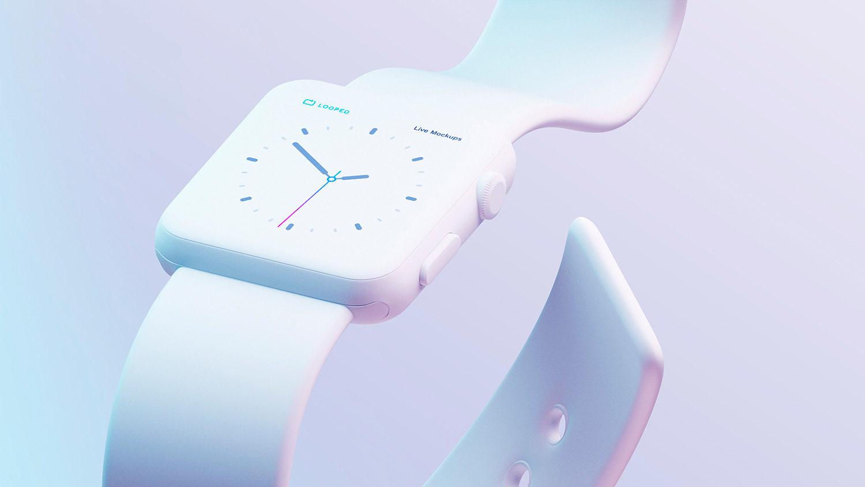 White Matte Apple's Device Mockups