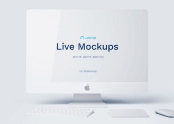White Matte Apple's Device Mockups