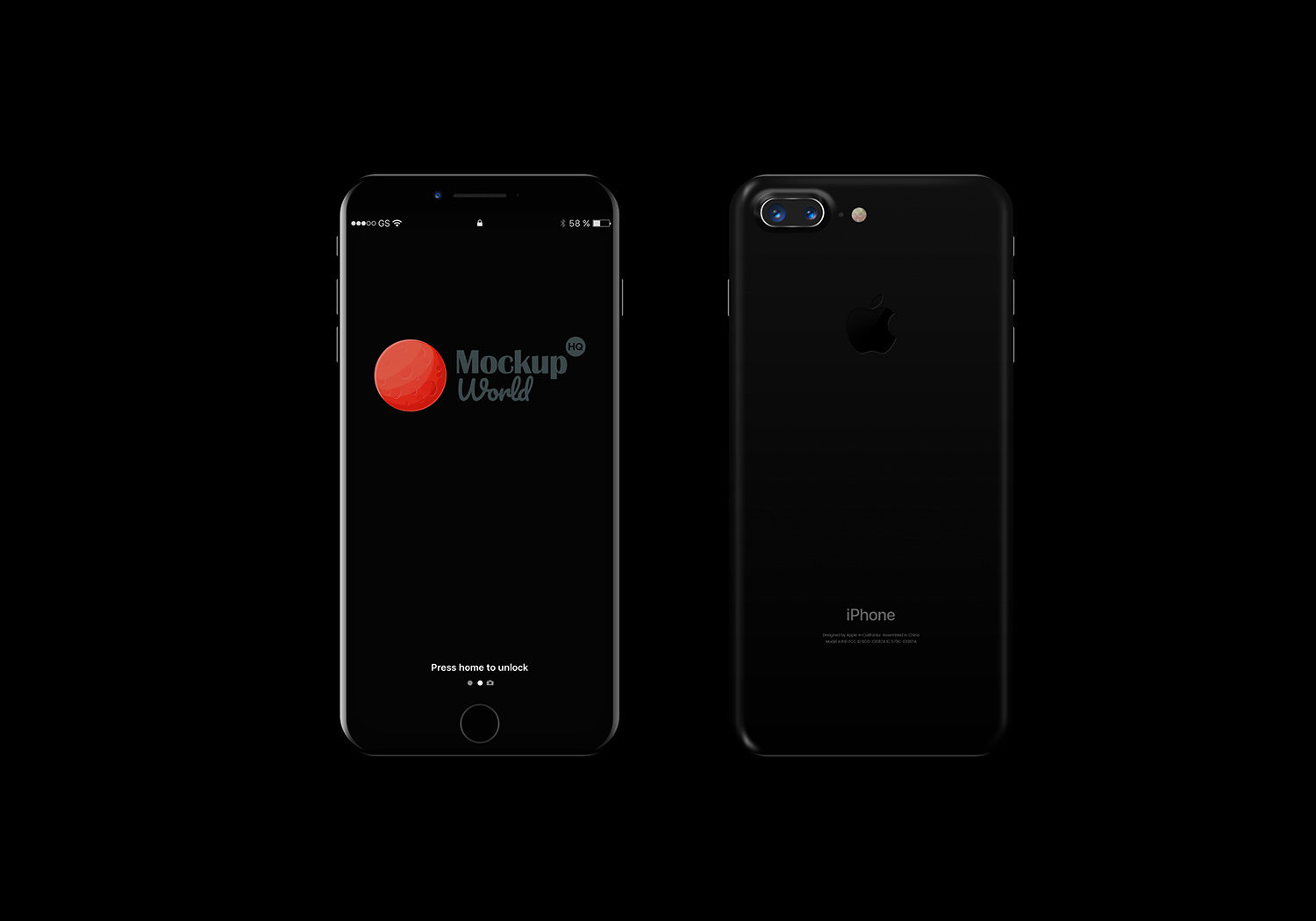 Iphone 8 Mockup Free Mockup World Hq
