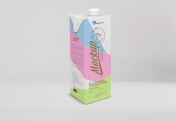 Milk Packaging Free Mockup
