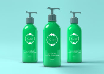 Cosmetic Dispensers Mockup