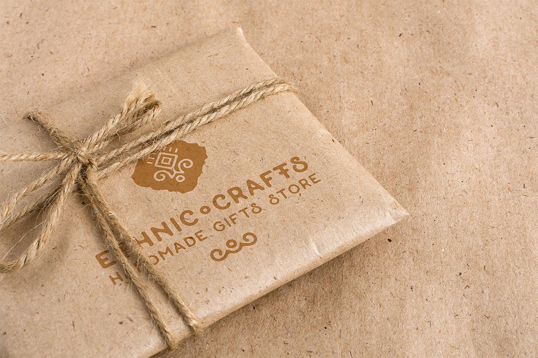 Free Craft Packaging Mockup