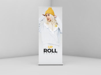 Modern Roll Up Mockup Free