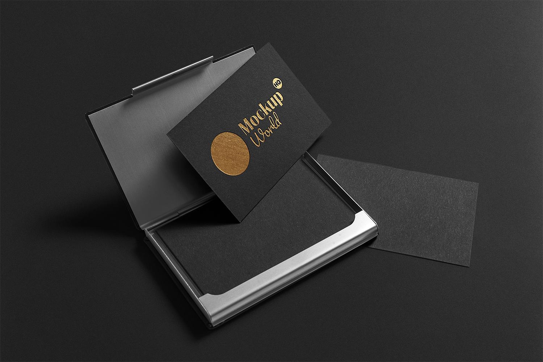 Premium Business Card Mockup
