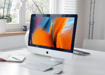 iMac Pro Workspace Mockup
