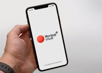 iPhone Xs Max Free Mockup