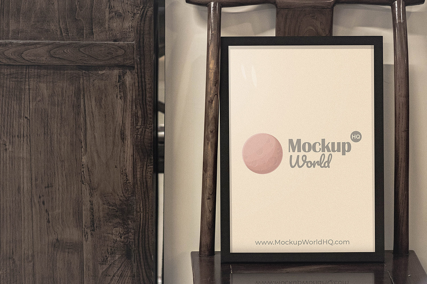 Poster Frame A4 Paper Free Mockup