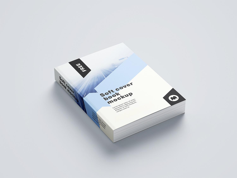 Soft Cover Book Mockup 01