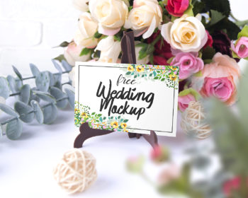 Free Wedding Mockup Set