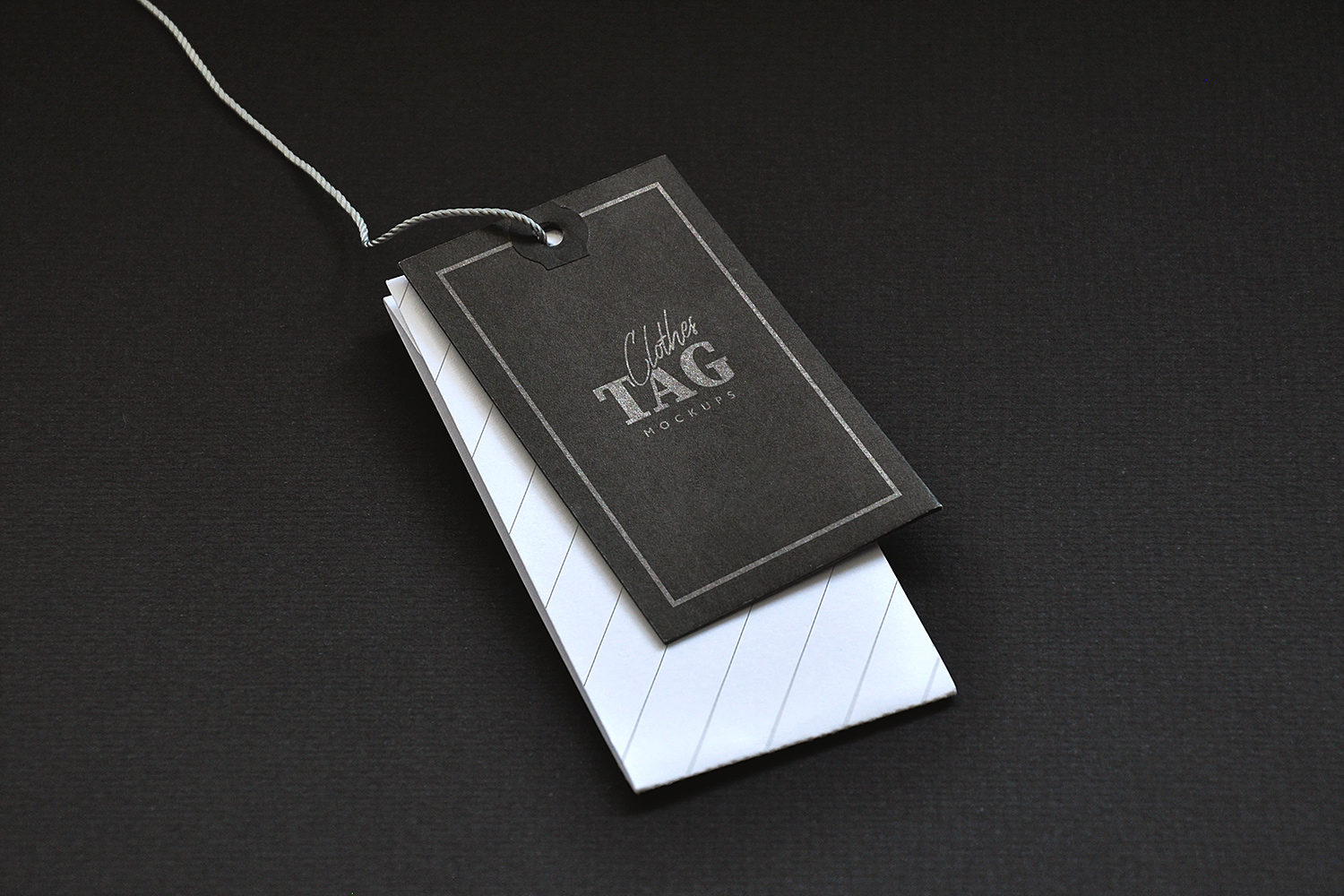 Clothes Label Tags Mockups