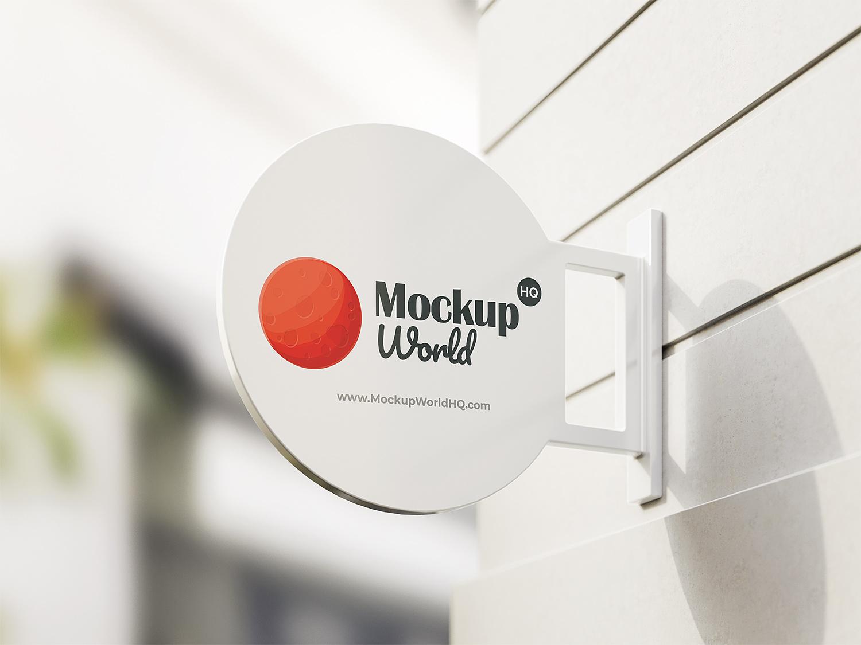 Free Sign Mockup