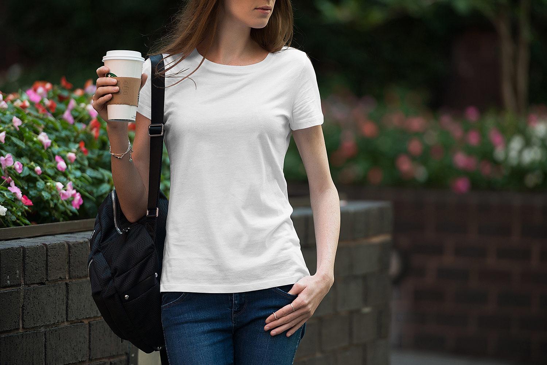 Male & Female T-Shirt Free Mockup Set