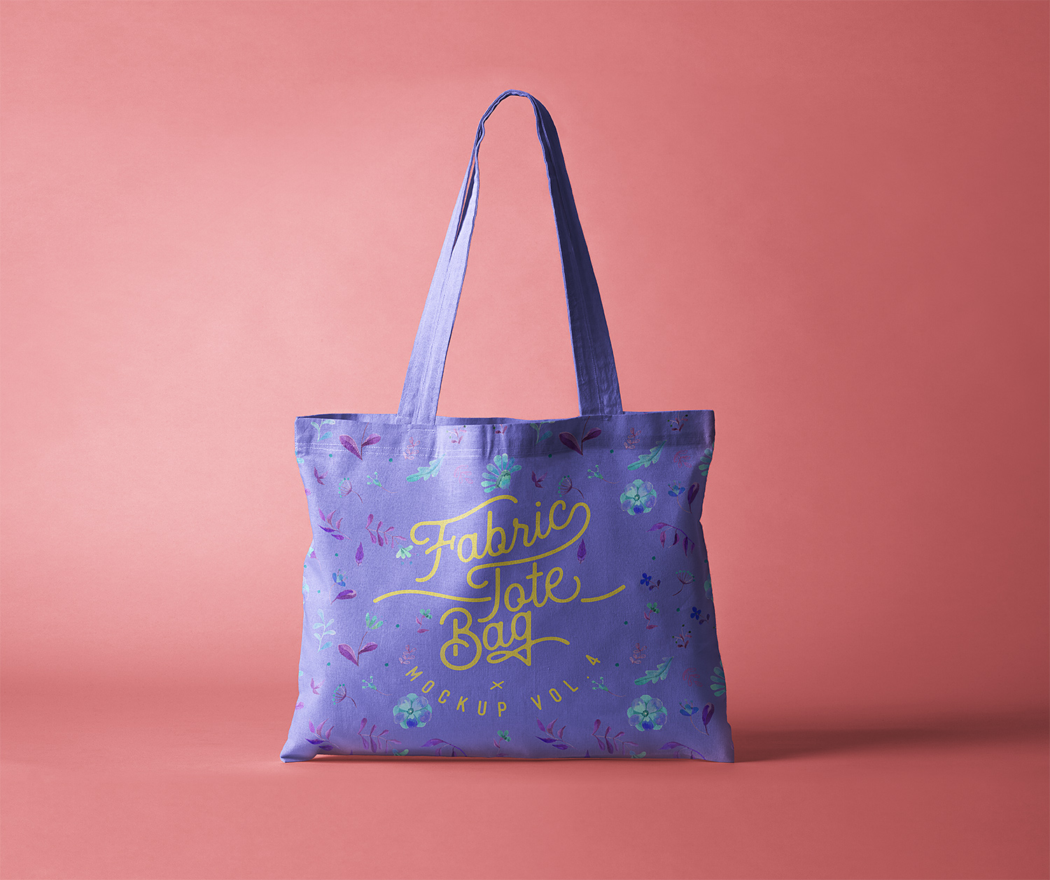 Tote Bag Fabric Mockup Free