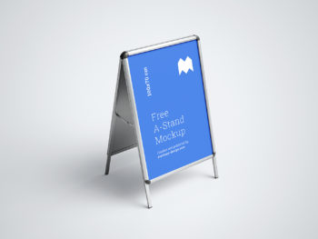 A-Stand Free Mockup