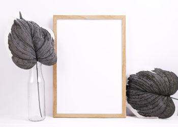 Free Minimalist Poster Frame Mock-Up Set