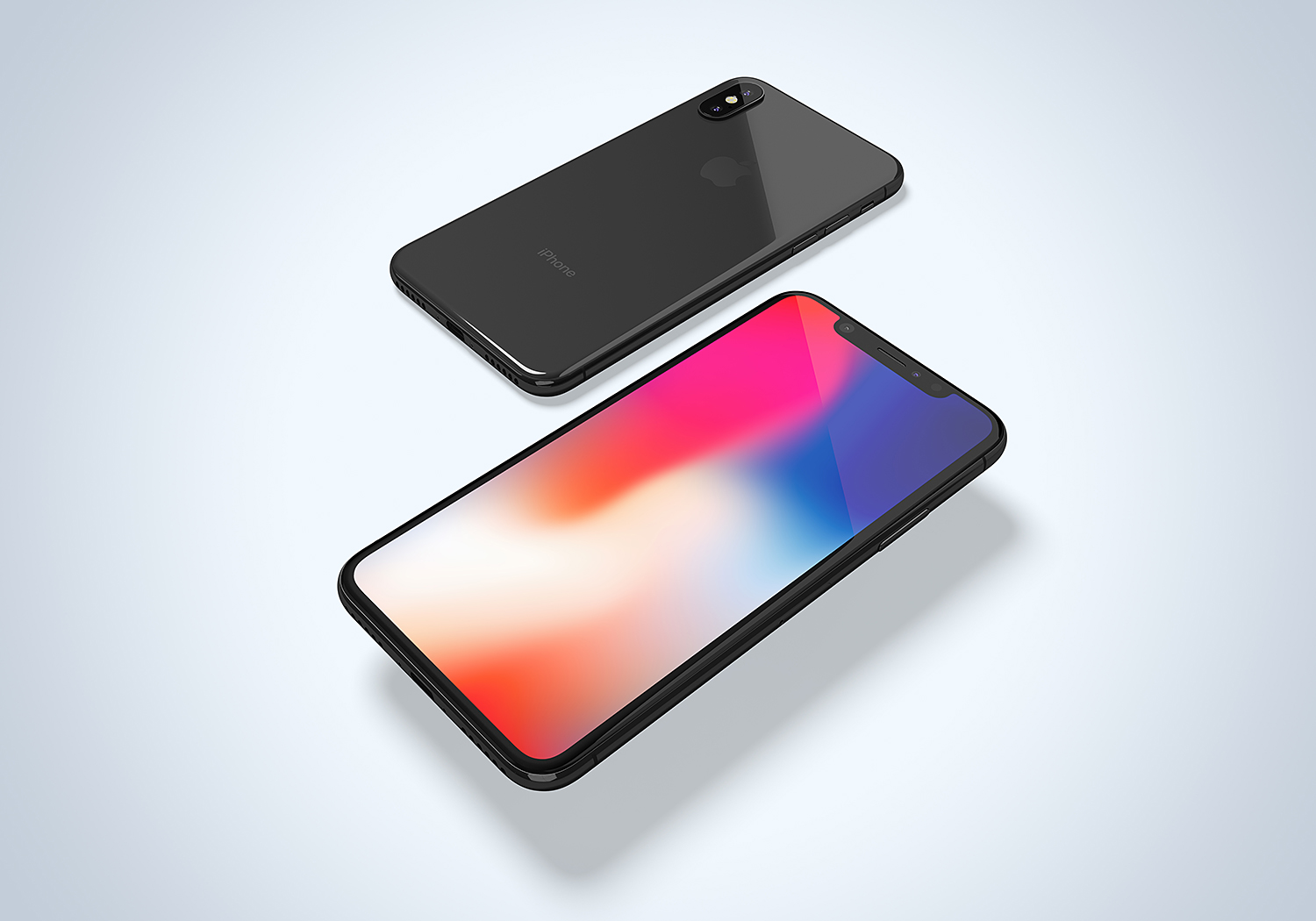 Apple iPhone X Free Mockup