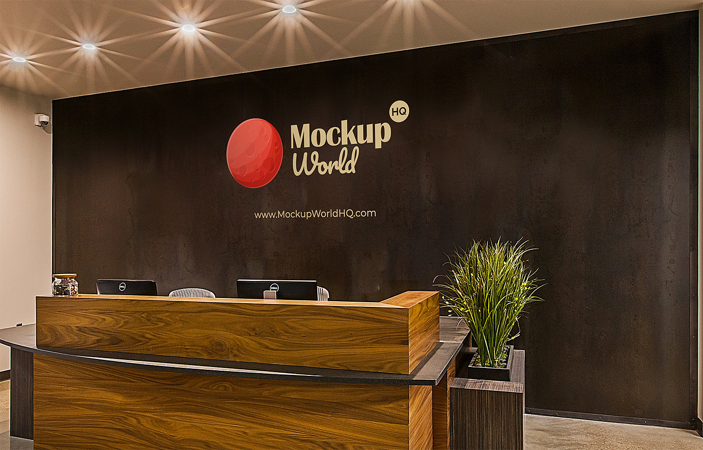 Free Office Branding Logo Mockup