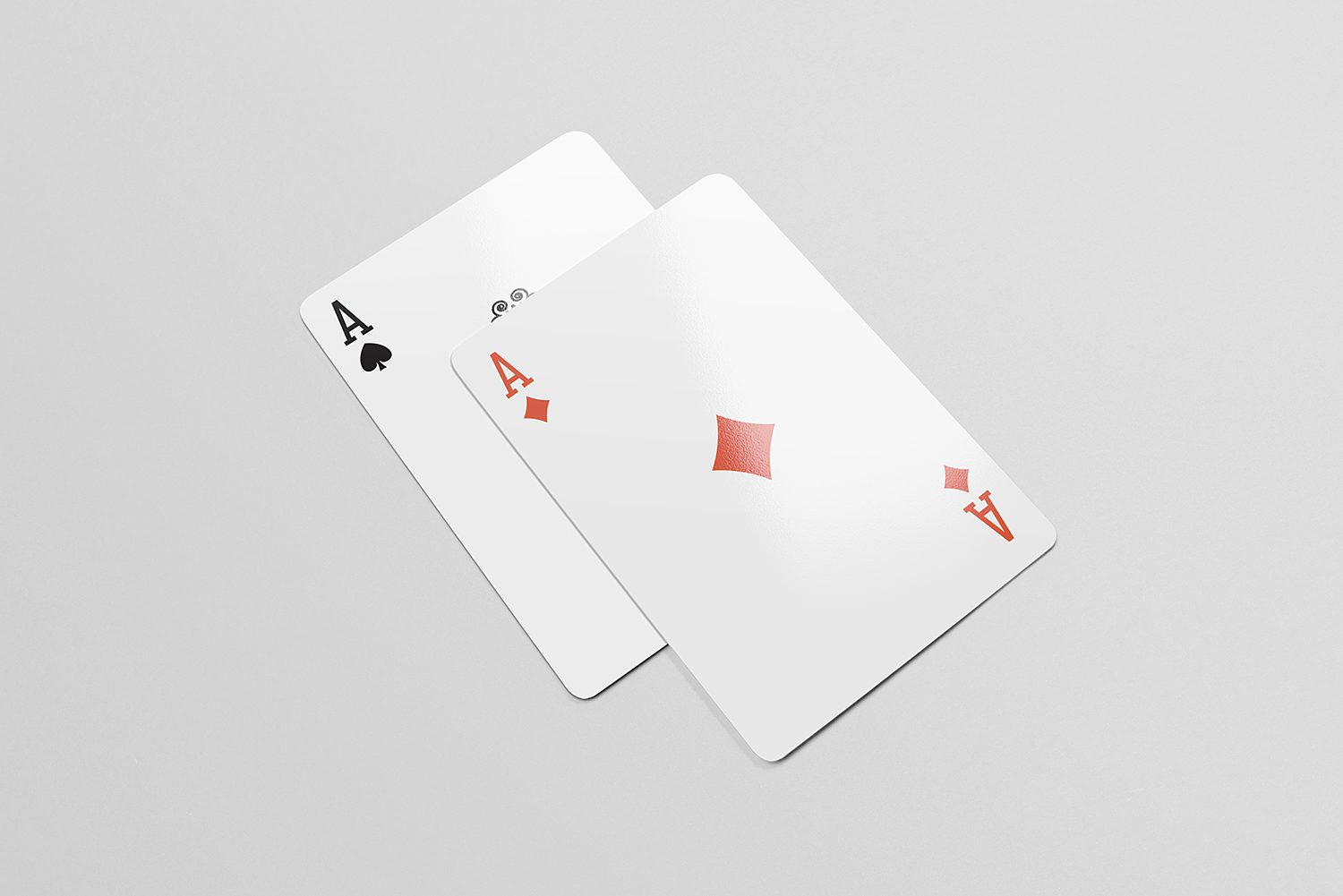 Playing Cards Free Mock-Up