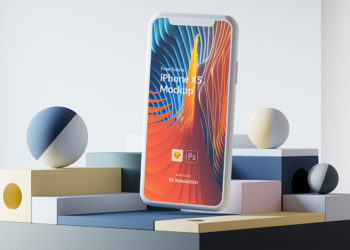 iPhone Xs PSD | Sketch Mockup