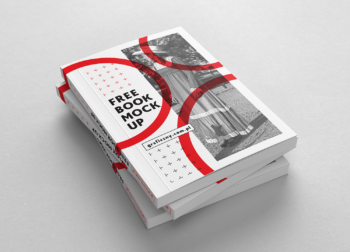Free Hardcover Book Mockup