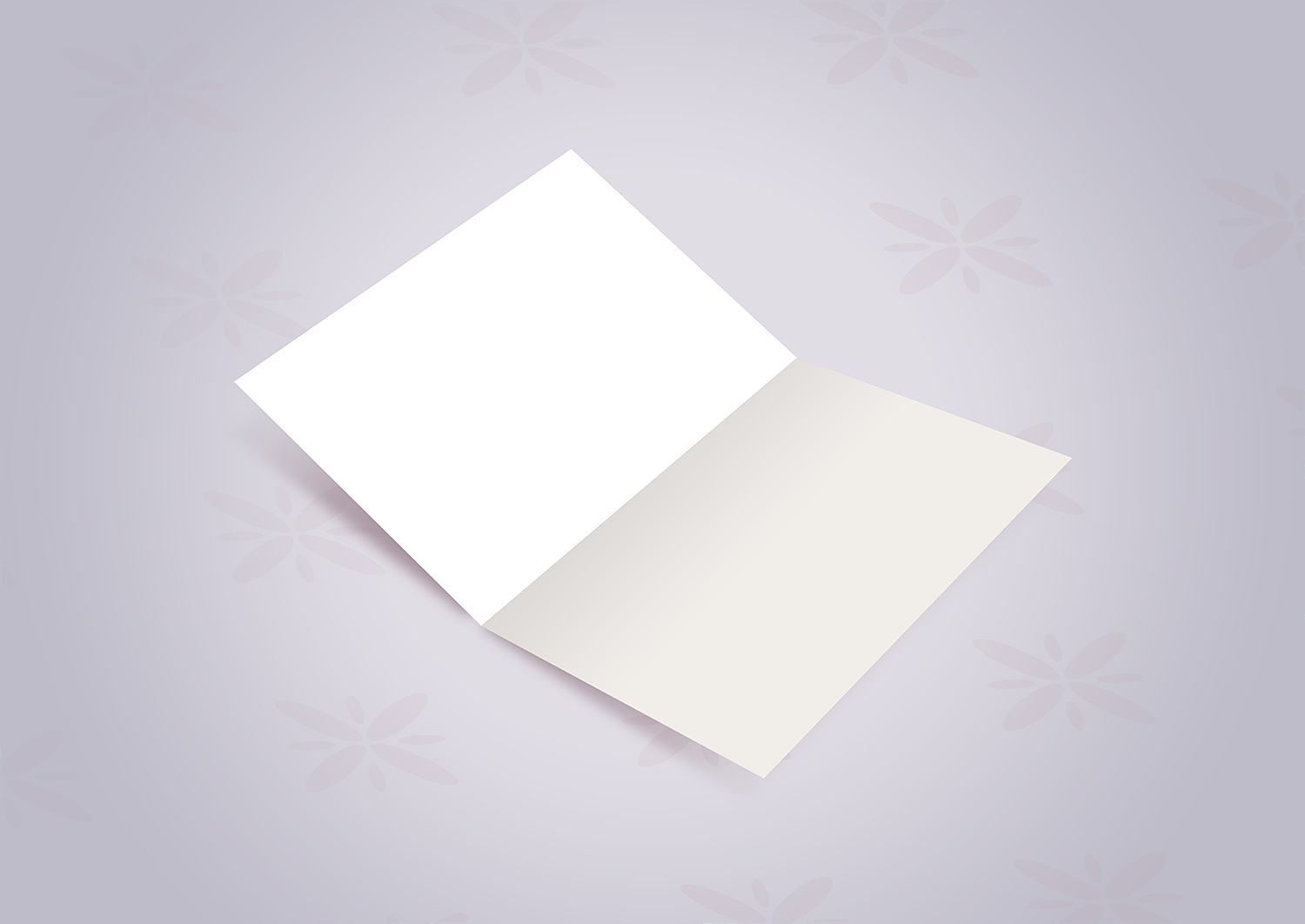 Wedding Invitation Card Mockup