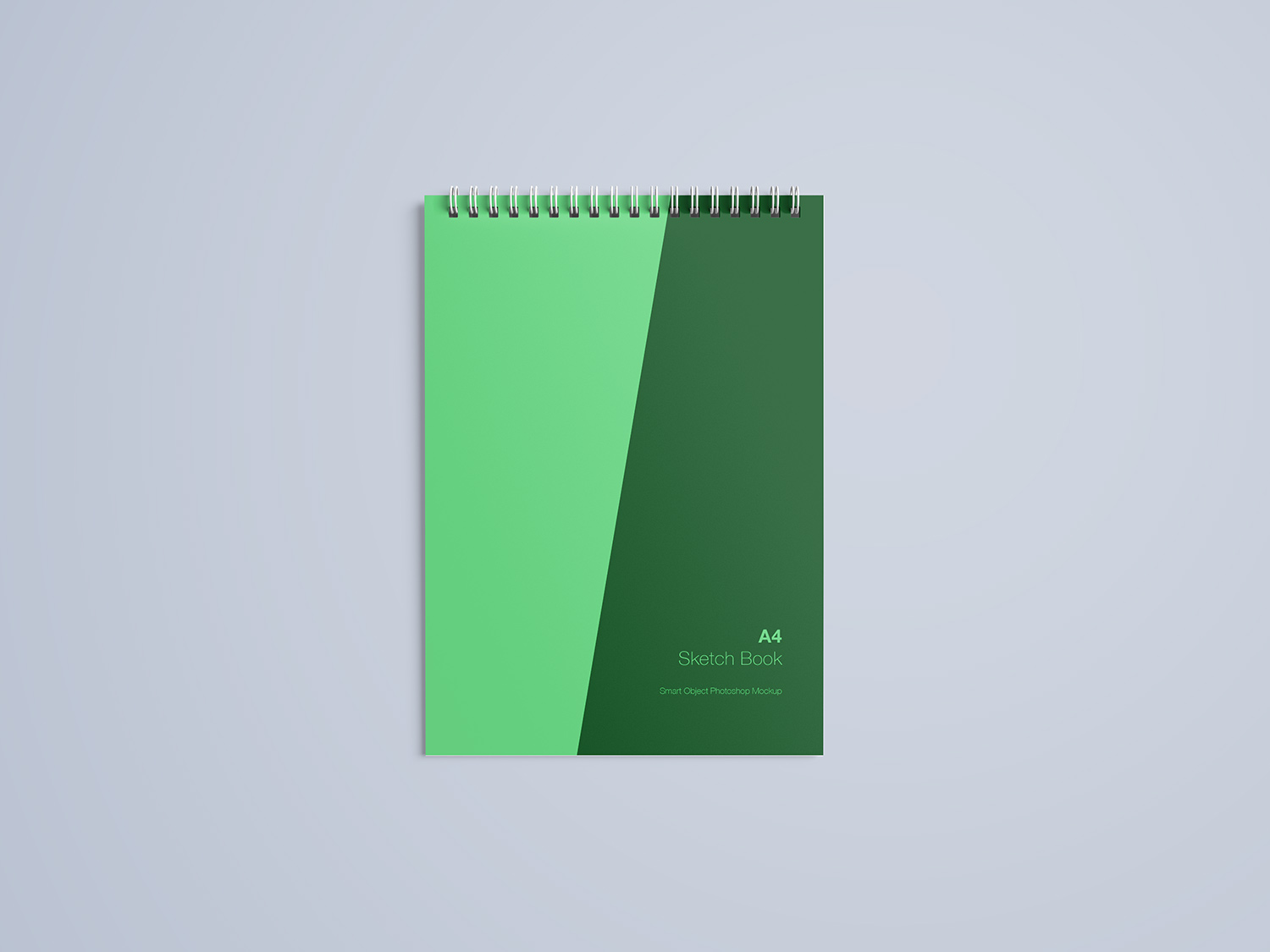 A4 Notebook Free Mockup