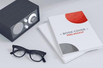 Book Cover Free Mockup